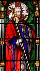 Christ the Good Shepherd (William Wailes, 1853)