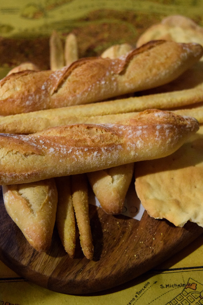 Italian Bread at The Compasses Inn