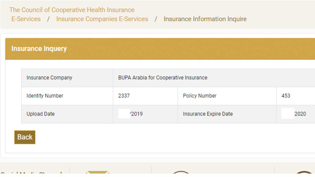 5148 How to check Health Insurance validity of Visit Visa holder 04