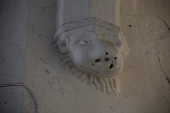 tower arch corbel lion