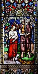 Baptism of Christ (William Wailes, 1853)