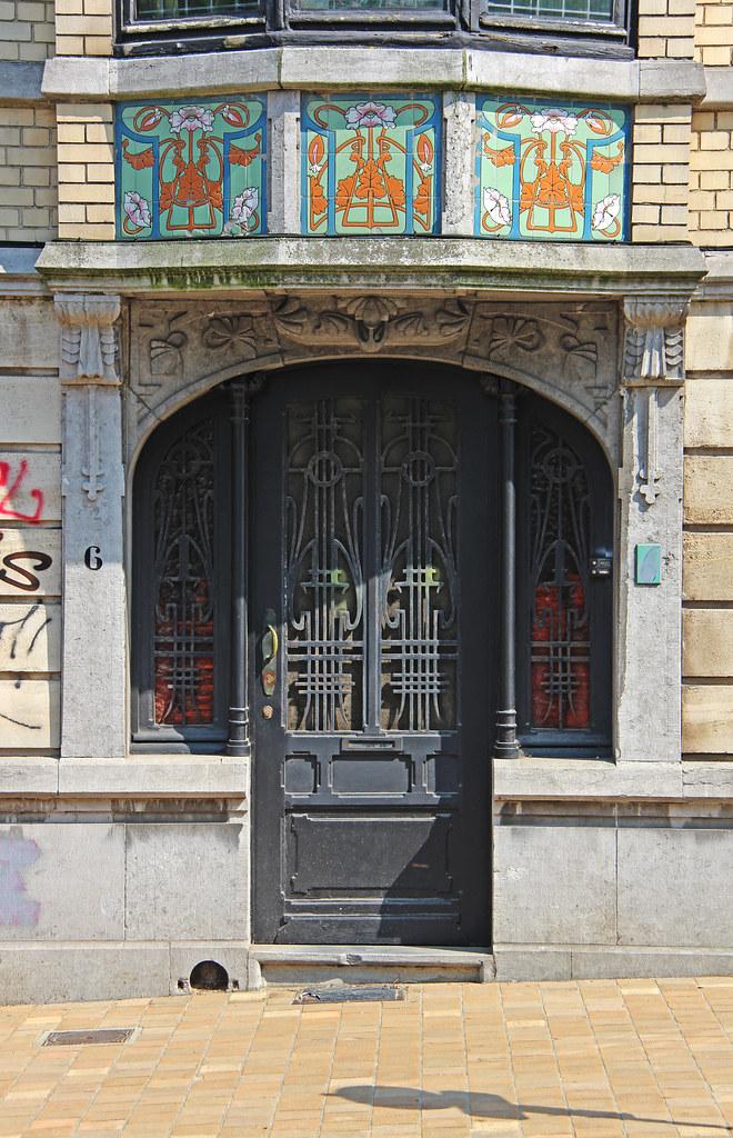 BRUXELLES - Art nouveau / Arch. Célestin Joseph HELMAN (1863-1929)