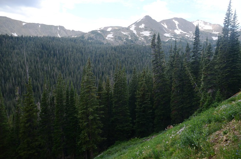 Mountain view from Arapahoe Pass Trail (3)