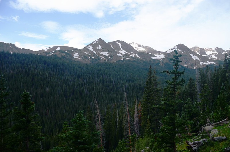 Mountain view from Arapahoe Pass Trail (2)