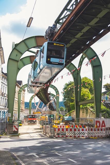 Baustelle Wuppertal