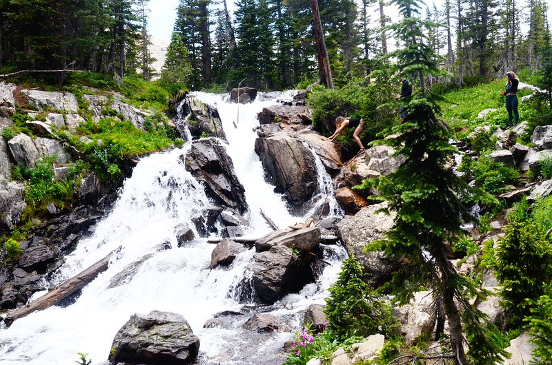 Waterfall on the North Fork Middle Boulder Creek (1)