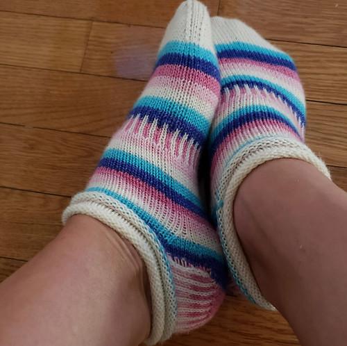 zanderlidy's Jelly Rolls by Mara Catherine Bryner...cute shortie socks!