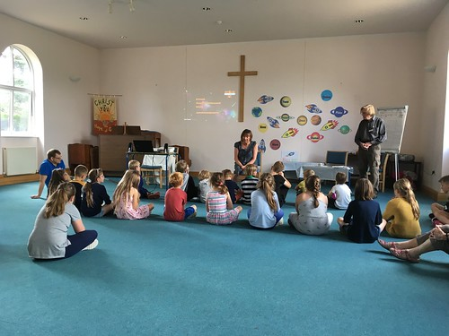 Creative prayer time with Reverend Catherine