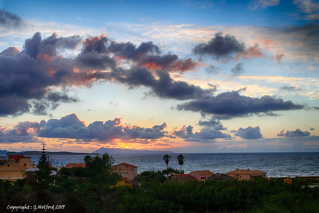 Clouds over Corfu