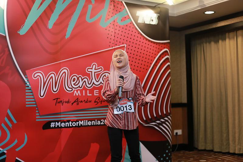 Antara Peserta Yang Hadir Di Uji Bakat Mentor Milenia 2