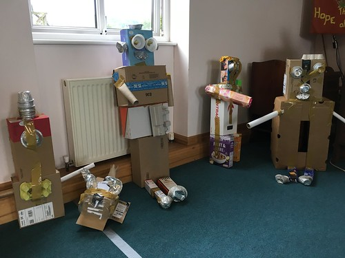 Completed robots