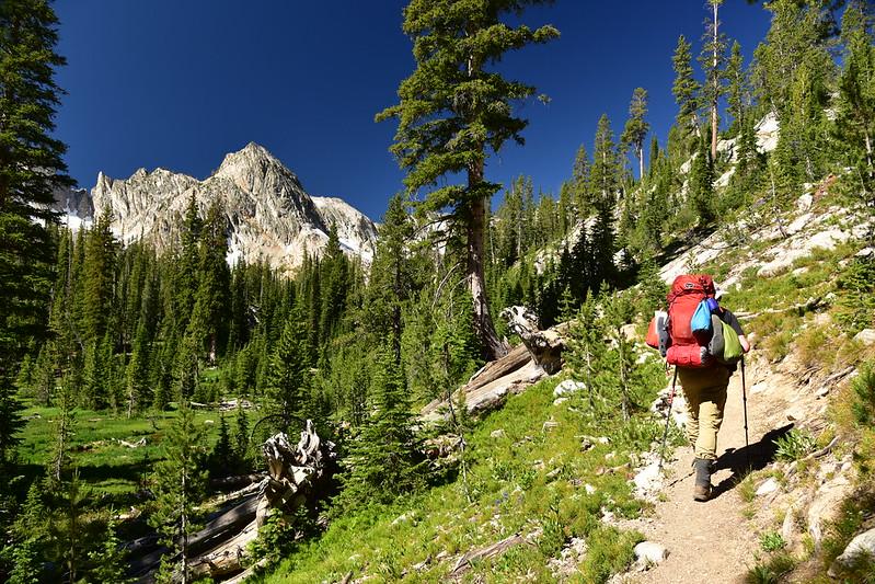 Beautiful hiking