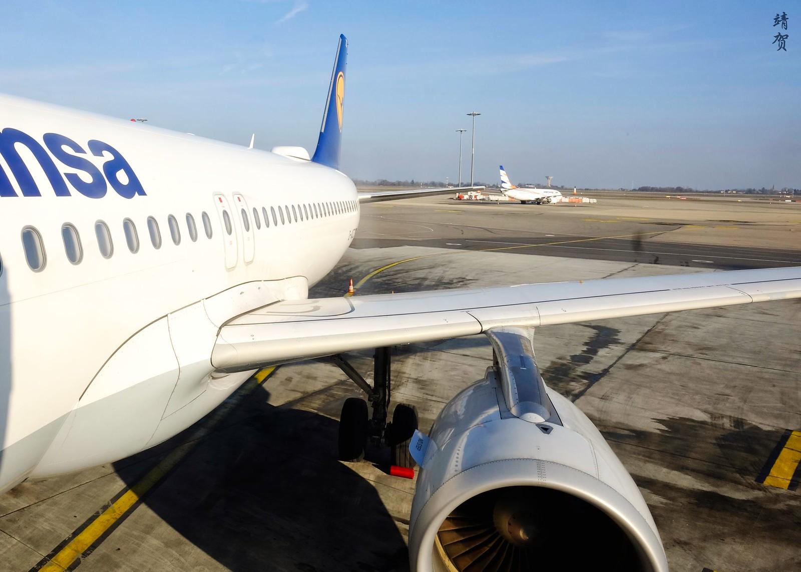 View from the aerobridge