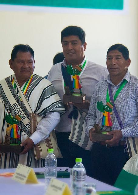 Alcalde de Echarati fue declarado huésped ilustre y visitante distinguido en Pichari