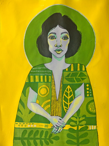 45 - Lady in Green