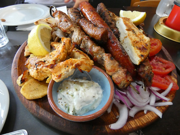 mixed grill athènes