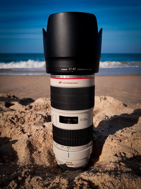 Canon 70-200mm at Beach...