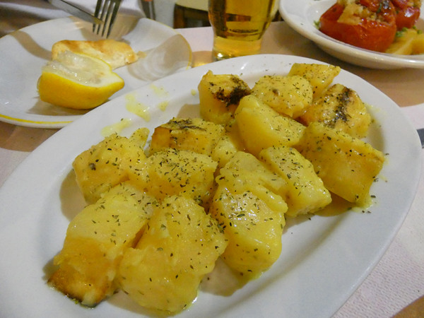 Pommes de terre au citron