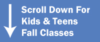 Kids & Teens Before & After School Fall Classes