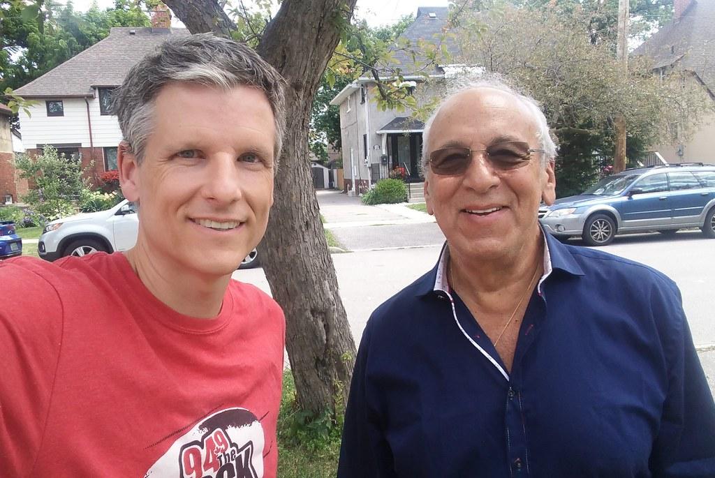 Peter Shurman and me