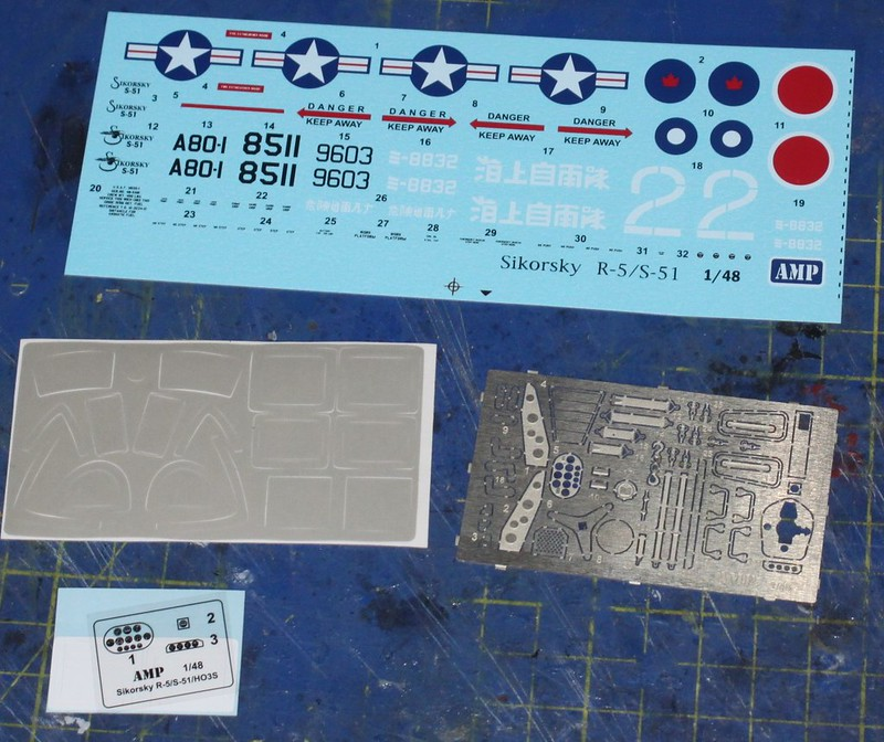Sikorsky R-5 / S-51 Dragonfly, AMP, 1/48 48496789112_f5184e2dc4_c