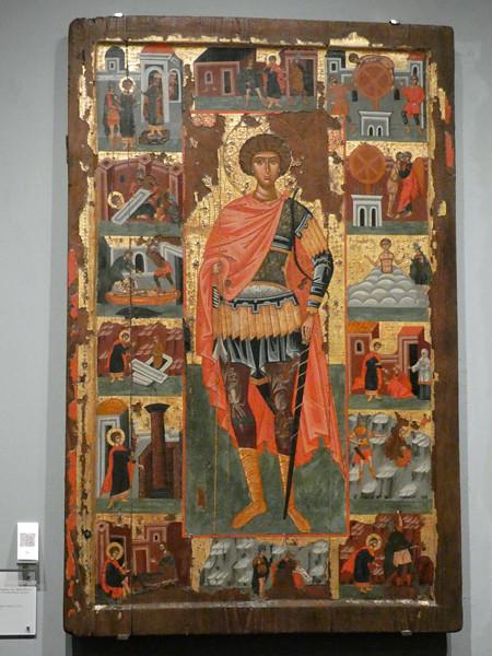 icone saint michel musée Benaki
