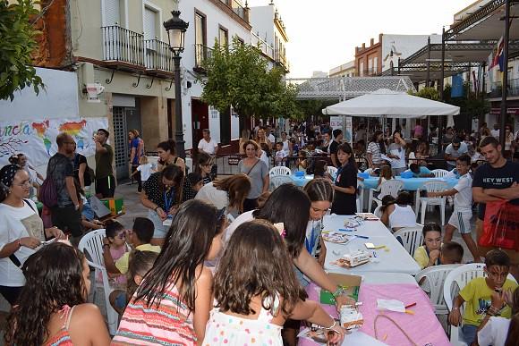 Ambiente en la Fiesta Intercultural