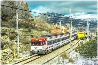 Regional y Tren de los 80 en Cercedilla