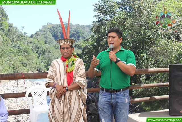 Comunidades nativas de Kepashiato reciben equipos para fortalecer identidad cultural