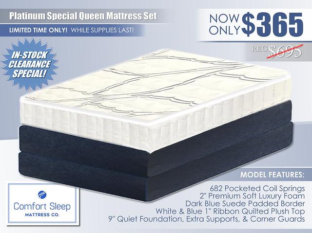 Platinum Special Mattress Special_Comfort Sleep