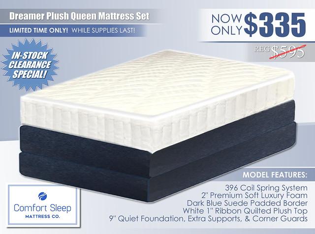Dreamer Plush Mattress Special_Comfort Sleep