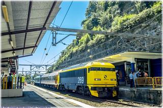 Tren de los 80 en Portugalete