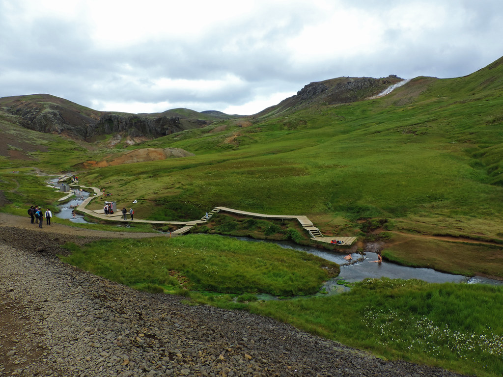 Reykjadalur , Iceland