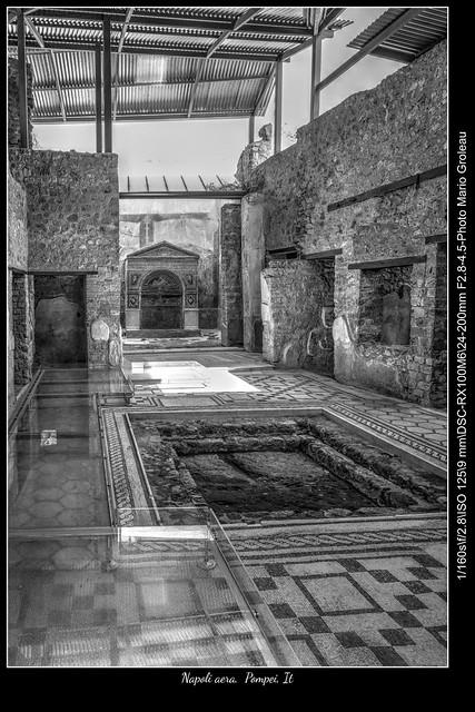 Napoli aera,  Pompei, It