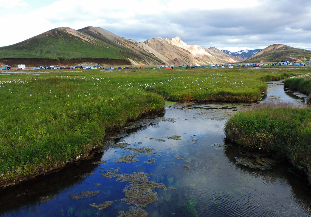 Natural Hot Pools In Iceland: Landmannalaugar, Iceland