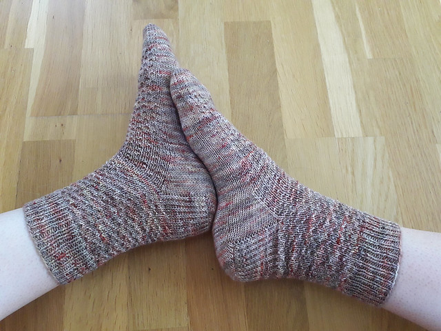 Pannouschka's Hermione's Everyday Socks by Erica Lueder