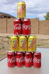 Pyramid of Cans
