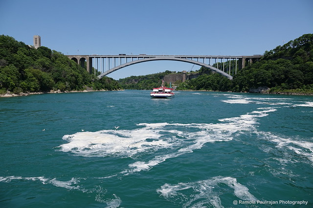 Rainbow bridge & Niagara river