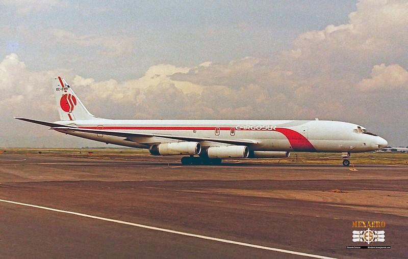 Cargo Sur / McDonnell Douglas DC-8-62F / EC-EMX