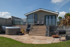 Willerby Ridgewood. with decking