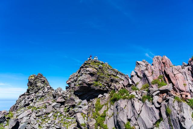 新山のピーク