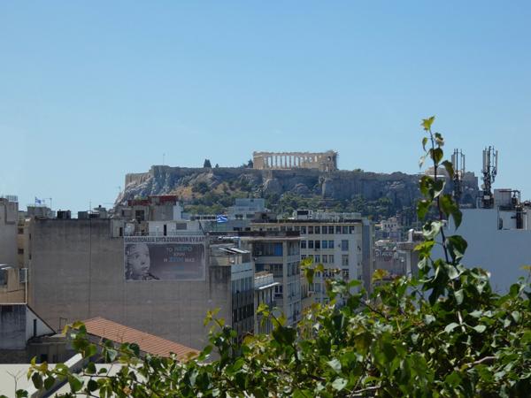 l'Acropole depuis le Hondos Center