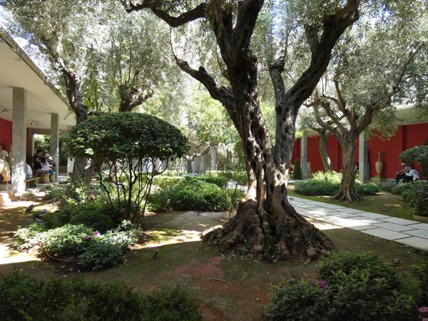 café-jardin du musée