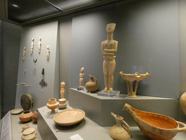 statuetets des Cyclades