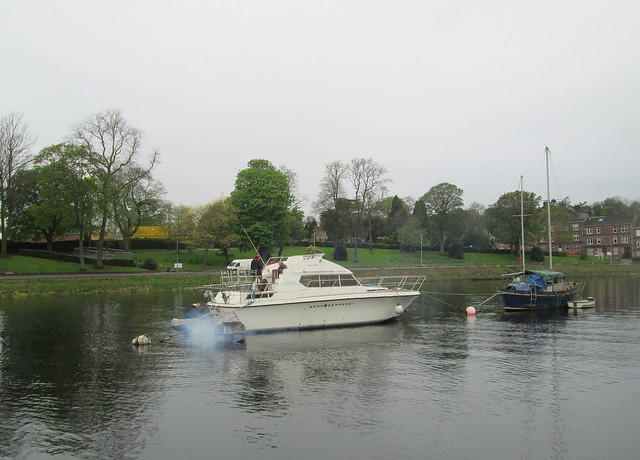 River Leven, Boats and Levengrove Park, Dumbarton