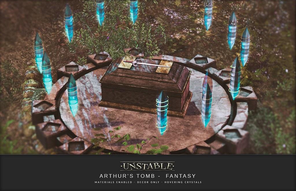 unstable. Arthur's Tomb Fantasy AD