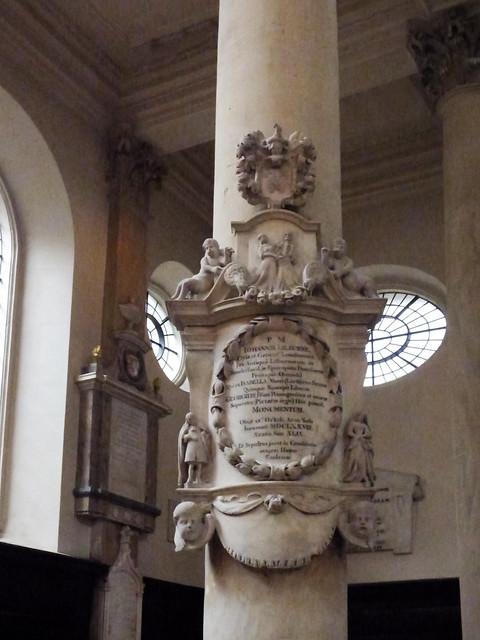 A Column in St Stephen Walbrook Church