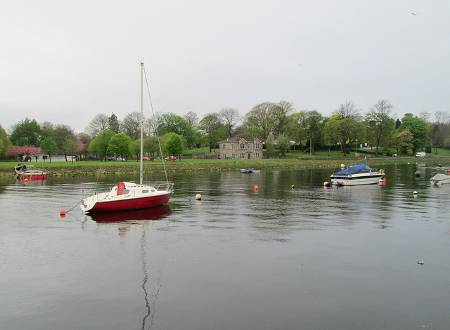 Boats on River Leven, Dumbarton