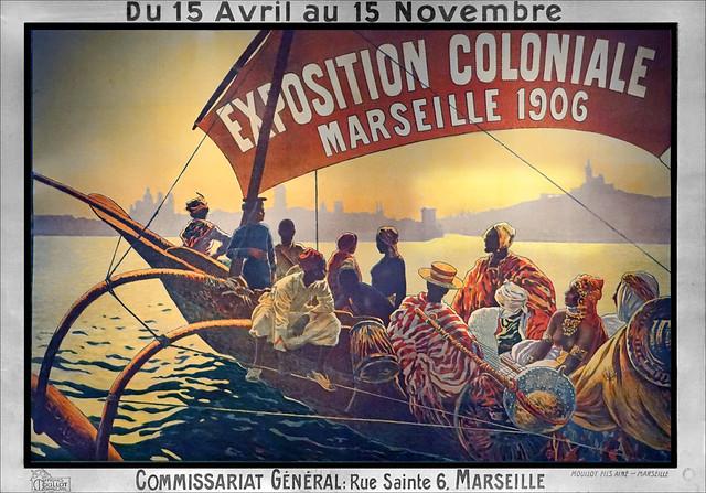 Affiche de l'Exposition coloniale (Musée du quai Branly-Jacques Chirac, Paris)