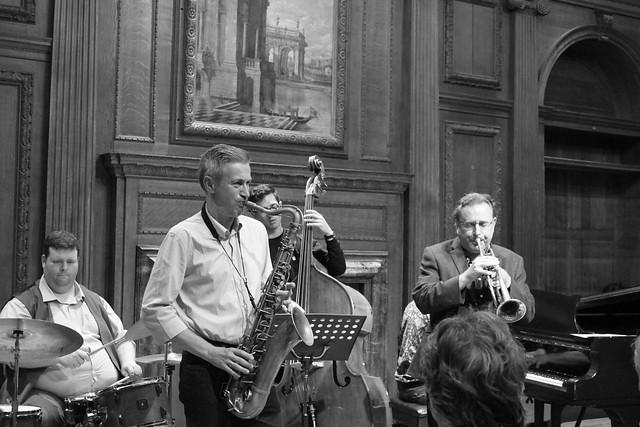 MARTIN SHAW & DAVE O'HIGGINS @ Bracknell Jazz 9 August 2019
